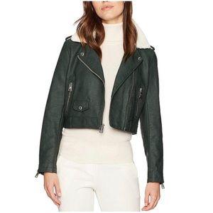 Levi's Sherpa Moto Faux Leather Jacket